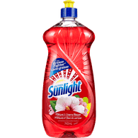 Sunlight Dishwashing Detergent Hibiscus & Cherry Blossom (740mL)  - Urbery