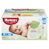 Huggies Natural Care Fragrance Free Wipes (3x72ea)