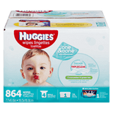 Huggies One & Done Refresh Wipes (864 ea)