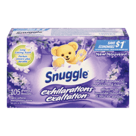 Snuggle Sheets Exhilarations, White Lavender & Sandalwood (105ea)  - Urbery
