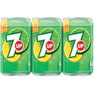 7Up Mini Cans (6X222ML)  - Urbery