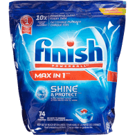 Finish Max in 1 Powerball Automatic Dishwasher Detergent (74ea)  - Urbery