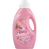 Fleecy Liquid Fabric Softener, Silky Essence (1.47L)