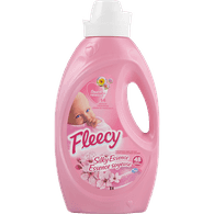 Fleecy Liquid Fabric Softener, Silky Essence (1.47L)  - Urbery