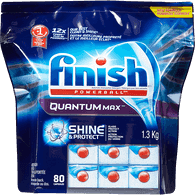 Finish Quantum Max Powerball Automatic Dishwasher Detergent (80ea)  - Urbery