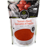 Canada's Own Tomato Basil Soup (725mL)  - Urbery