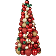 "Life At Home 18"" Red ball Ornament (e.a)  - Urbery"