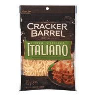 Cracker Barrel Shredded Cheese 4 Cheese Italiano (320g)