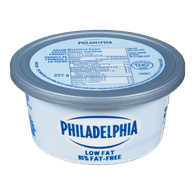 Philadelphia Cream Cheese Spread Low Fat (227g)  - Urbery
