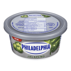 Philadelphia Cream Cheese Spread Jalapeno (227g)  - Urbery