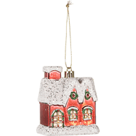 Holiday House Ornament (e.a)  - Urbery