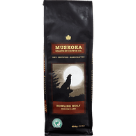 Muskoka Howling Wolf Coffee, Ground (454g)  - Urbery