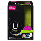 U by Kotex Clean Ware Ultra Thin, Heavy Flow (56 ea)