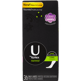 U by Kotex Curves, Long Flat Pantiliner (42 ea)