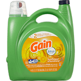 Gain High Efficiency Liquid Detergent, Sunflower & Sunshine (4.43L)