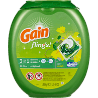 Gain Flings 3 In 1, Original (81ea)  - Urbery