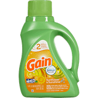 Gain High Efficiency Liquid Detergent, Sunflower & Sunshine (1.47L)  - Urbery