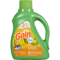 Gain High Efficiency Liquid Detergent, Sunflower & Sunshine (2.95L)  - Urbery