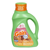 Gain High Efficiency Liquid Detergent, Hawaiian (1.47L)  - Urbery