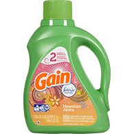 Gain High Efficiency Liquid Detergent, Hawaiian (2.95L)  - Urbery
