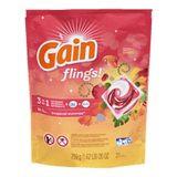 Gain Flings! Laundry Detergent Pacs, Tropical (31ea)