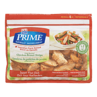 Maple Leaf Prime Naturally Sliced Chicken Breast, Thai Chili (300g)  - Urbery