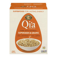 Nature's Path Organic Qi'a Hot Oatmeal, Supergrains (228g)  - Urbery