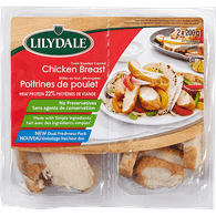 Lilydale Oven Roasted Chicken Breast, Carved (2X200g)  - Urbery