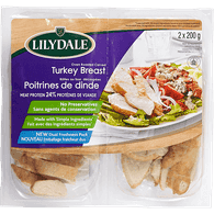 Deli Counter Lilydale Carved Turkey Breast (400g)  - Urbery
