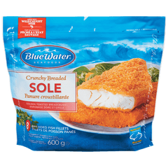 BlueWater Breaded Sole Fillets (600g)  - Urbery
