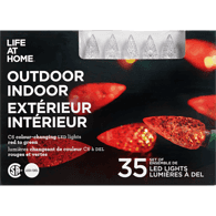 Life at home Outdoor lights LED Multi lights (Set of 35)  - Urbery