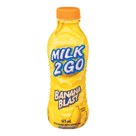 Milk 2 Go Milk Banana (473mL)  - Urbery
