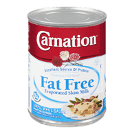 Carnation Canned  Evaporated Milk, Fat Free (354mL)  - Urbery