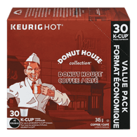 Keurig Donut House Regular Coffee, K-Cup (30ea)  - Urbery