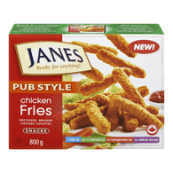 Janes Pub-Style Chicken Fries (800g)  - Urbery