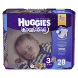 Huggies OverNites Diapers, Step 3 Jumbo Pack (66 ea)