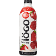 IOGO Smoothie, Strawberry/Raspberry (1L)  - Urbery