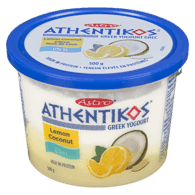 Astro Athentikos Greek Yogurt, Lemon Coconut (500g)  - Urbery