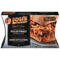 Lou's Pulled Turkey in BBQ Sauce (400g)  - Urbery