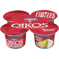 Danone Oikos Greek Yogurt, Limited Edition (4x100g)  - Urbery