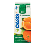 Oasis Premium Orange Juice with Pulp (1.65L)
