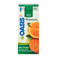 Oasis Premium Orange Juice with Pulp (1.65L)  - Urbery