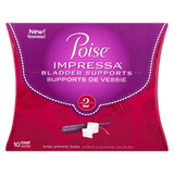 Poise Impressa, Size 2 Bladder Support Device (10 ea)