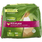 Depend Silhouette Briefs for Women, Moderate Absorbency, Large (19 ea)