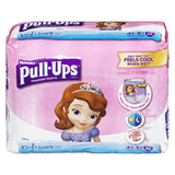 Pull-Ups Cool & Learn, Girl 4T-5T (32 ea)
