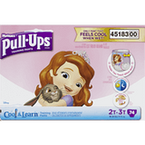 Pull-Ups Cool & Learn, Girl 2T-3T (74 ea)