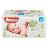Huggies Natural Care Baby Wipes, Fragrance Free (624 ea)