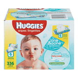 Huggies One & Done Refreshing Baby Wipes, Soft Pack (336 ea)
