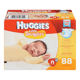 Huggies Little Snugglers Diapers, Size New Born (88 ea)