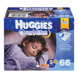 Huggies OverNites Diapers, Size 3 (66 ea)